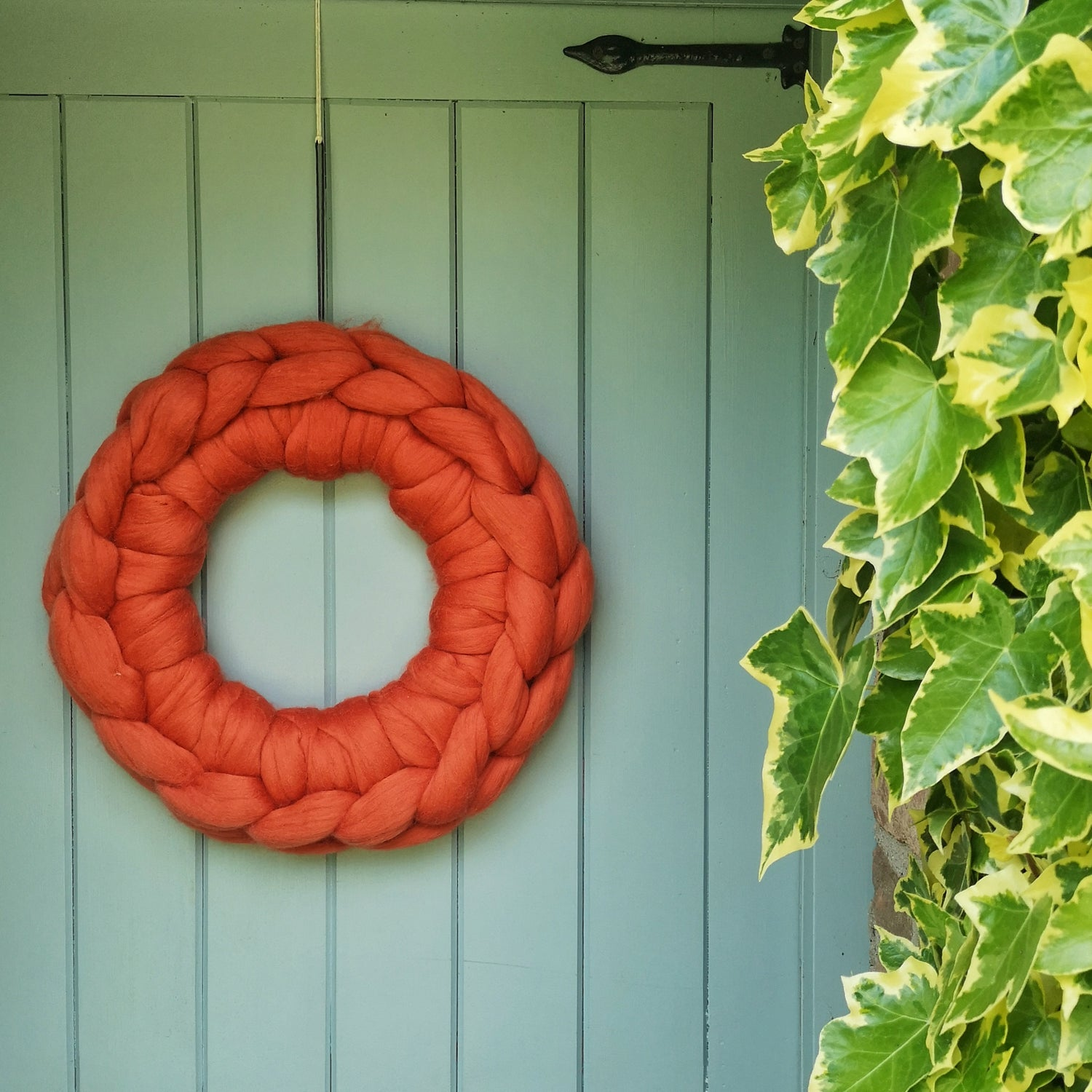 Image of Crocheted wreaths