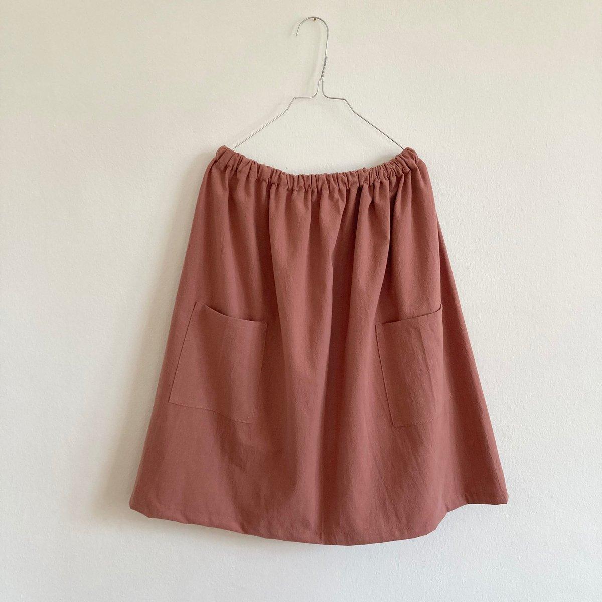 Uva Skirt-clay pink
