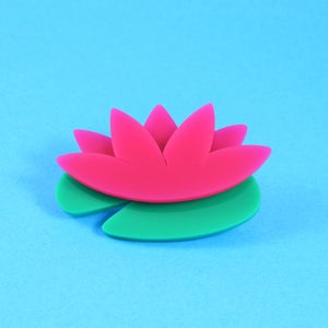 Image of Sarah Millican Well Done Flower Brooch