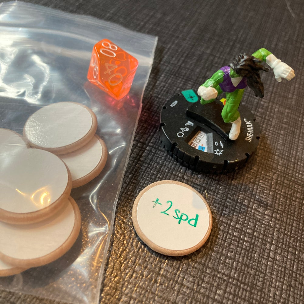 Dry Erase Tokens (10 pack)