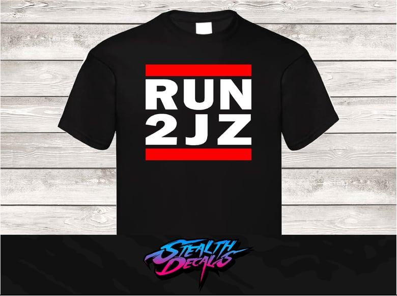 Image of RUN 2JZ T-shirt