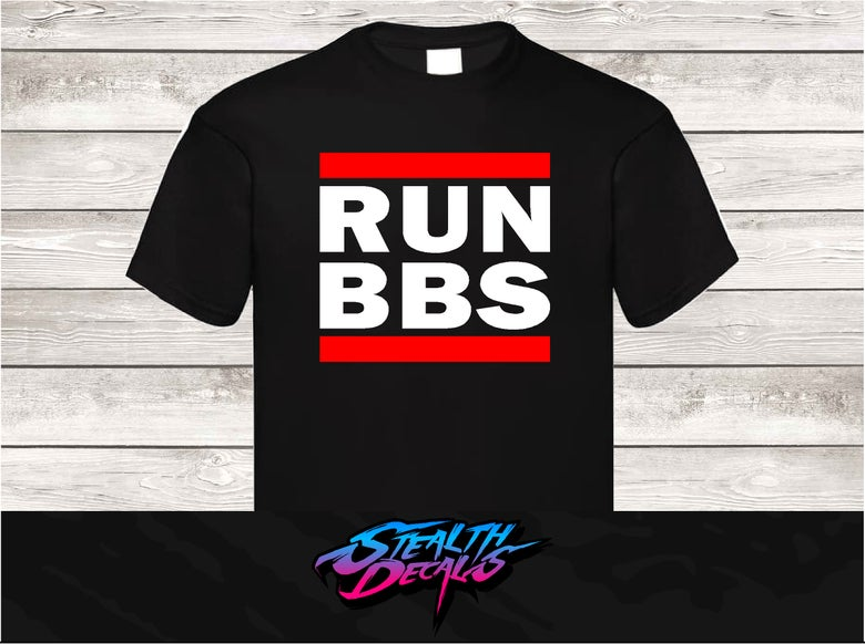 Image of RUN BBS T-shirt