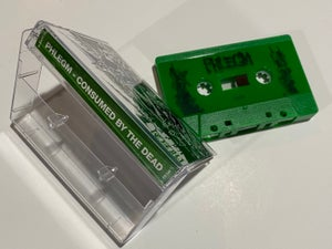 """Image of Phlegm """" Consumed By The Dead """" Cassette Tape"""
