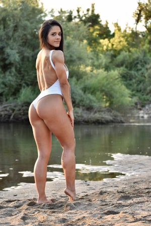 Image of NLFP SWIMSUIT WHITE