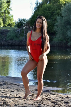 Image of NLFP SWIMSUIT RED