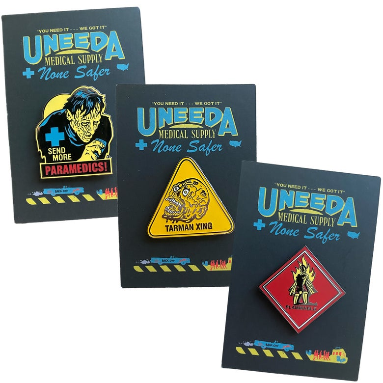 Image of Return of the Living Dead pin set