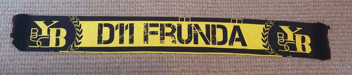 Young Boys Bern D11 Frunda Brand New Printed Scarf