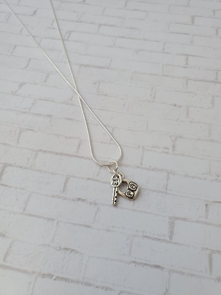 Image of Car Key and Remote Necklace