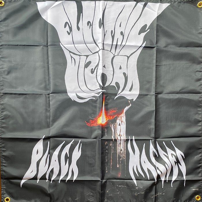 """Image of Electric Wizard """" Black Masses """"   Flag / Tapestry / Banner"""