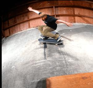 Sean Young Bums Warehouse 1997 by Tobin Yelland
