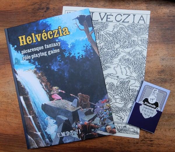 Image of Helvéczia: Picaresque Fantasy RPG (hardcover edition)