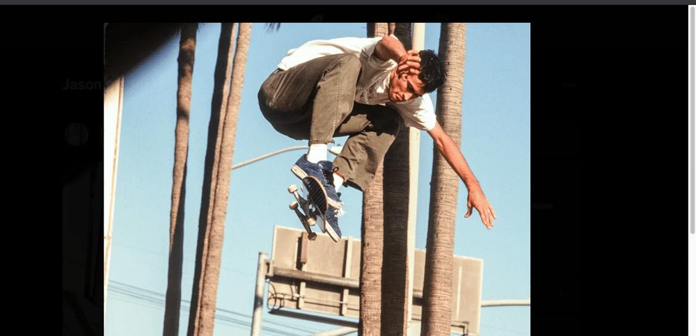 Jason Lee, Santa Monica Blvd 1994, by Tobin Yelland