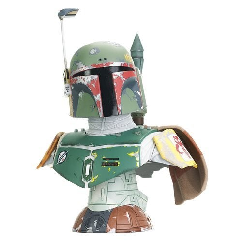 Image of Star Wars Legends In 3D Empire Strikes Back Boba Fett 1:2 Scale Bust