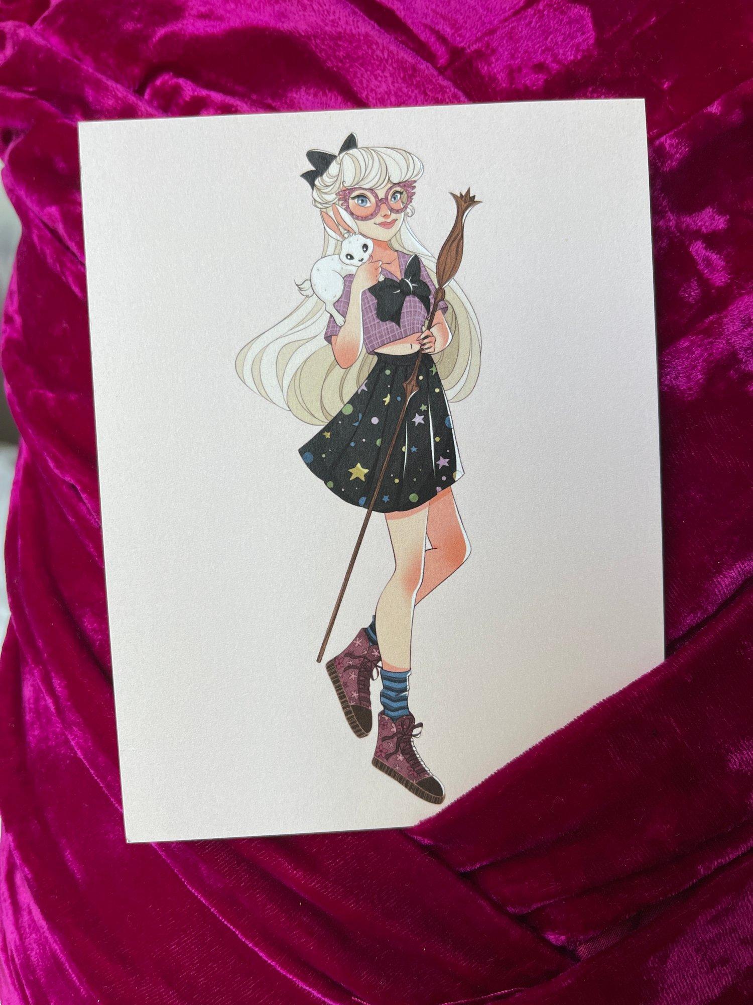 Sailor Loona Mini Print