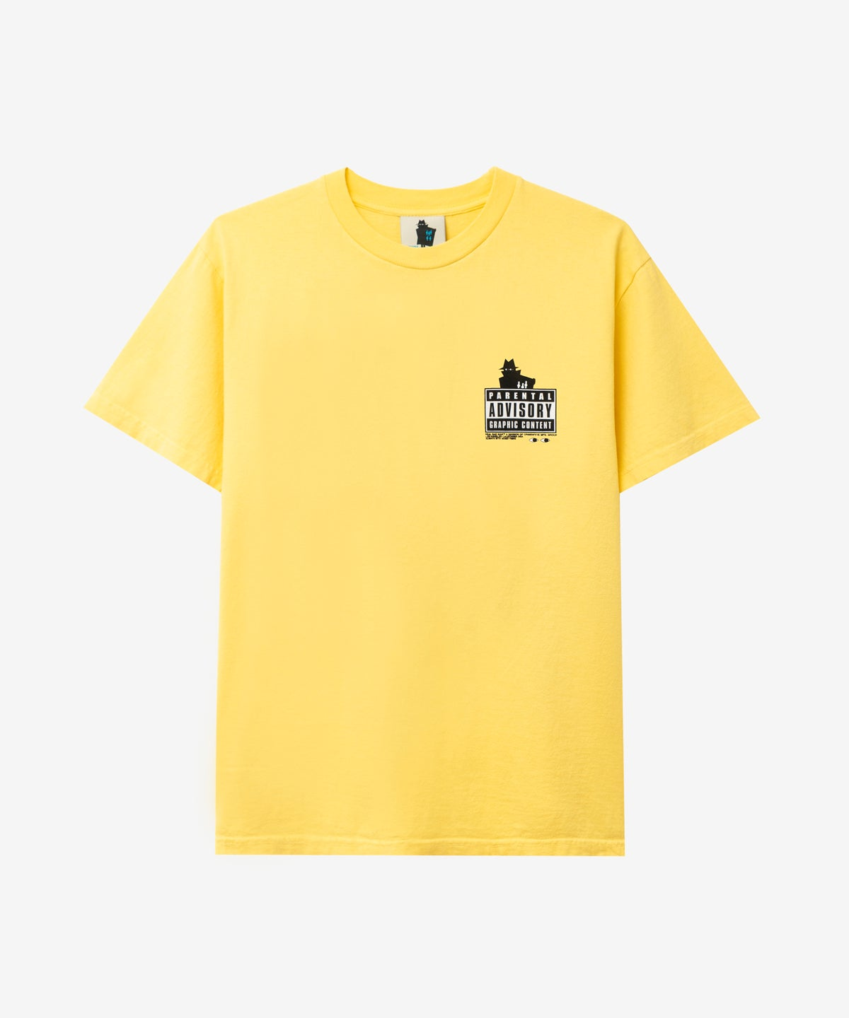 Image of REAL BAD MAN_THE BIG THREE TEE :::BUTTER YELLOW:::