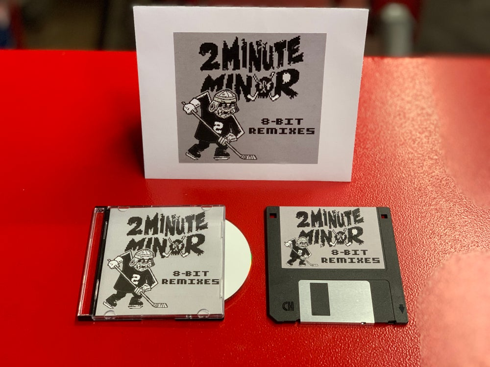 Image of SOLD OUT - 8-Bit Remixes - Mini-CD + Floppy Disk