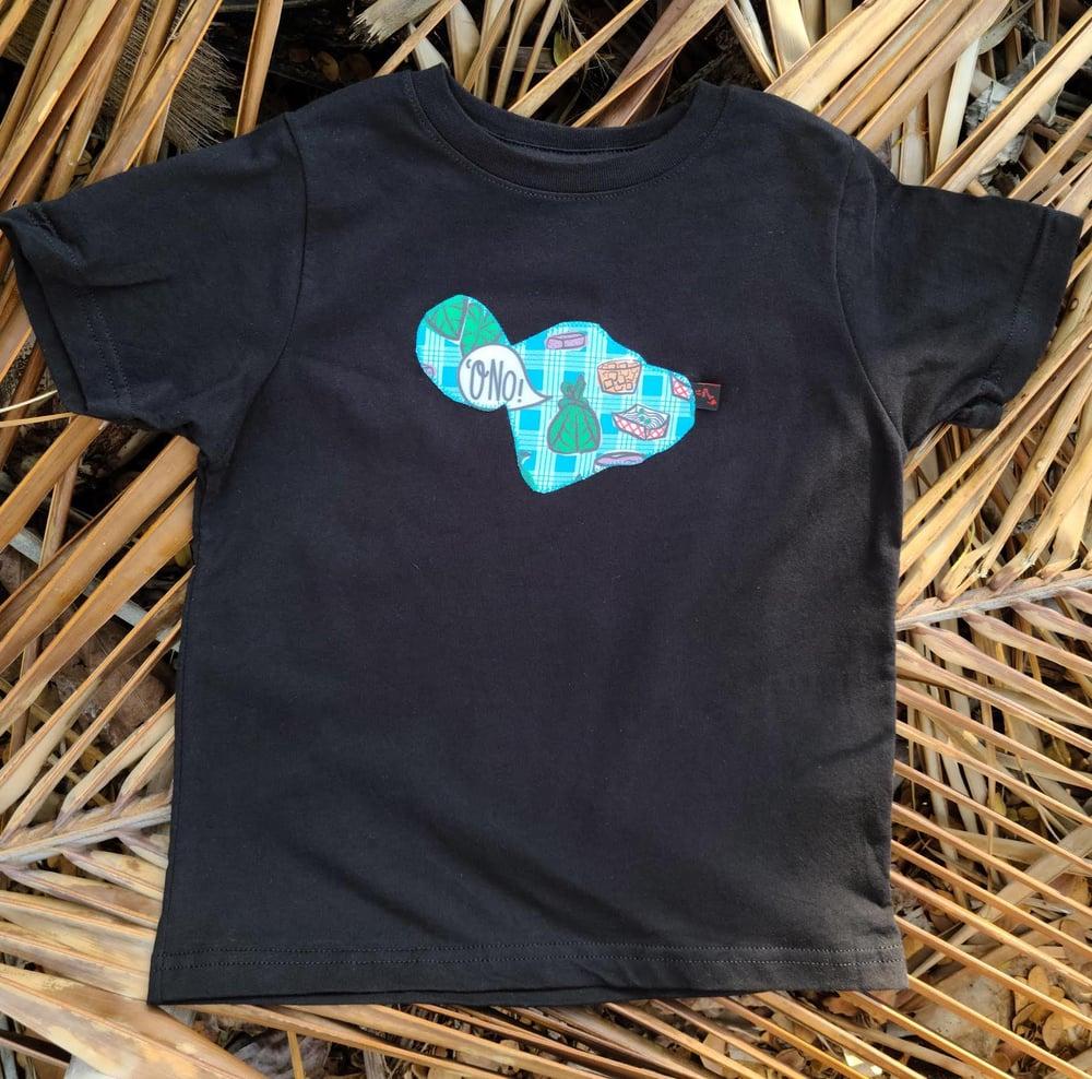 Image of Blue Palaka 'Ono Maui Tee