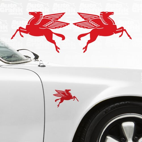 Image of CLASSIC STYLE PEGASUS DECAL SET