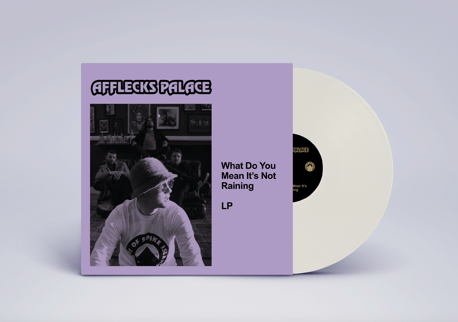 Image of PREORDER 2: Afflecks Palace - What Do You Mean Its Not Raining (WHITE PEARL VERSION)