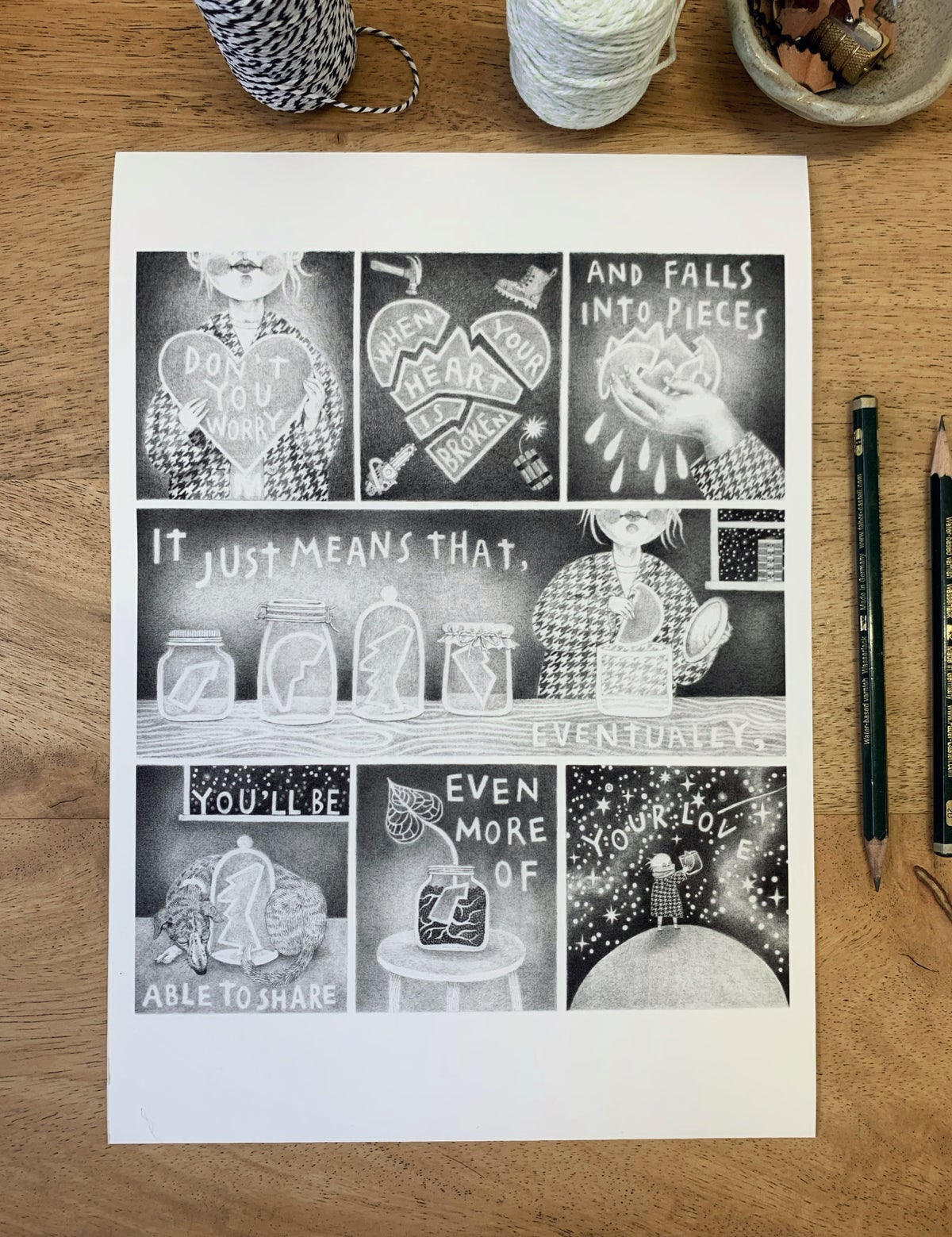 Image of Little pencil story A4