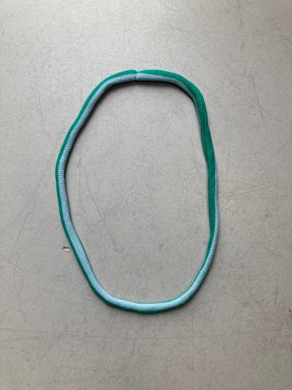 Image of Cotton medium necklace, Côte d'Azur