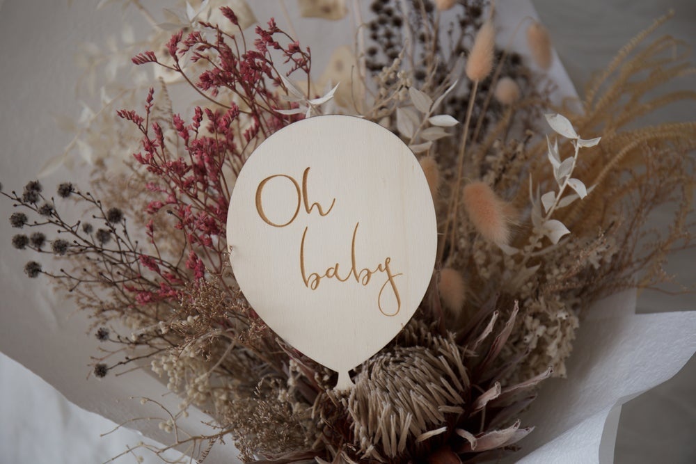 Image of Oh Baby Balloon