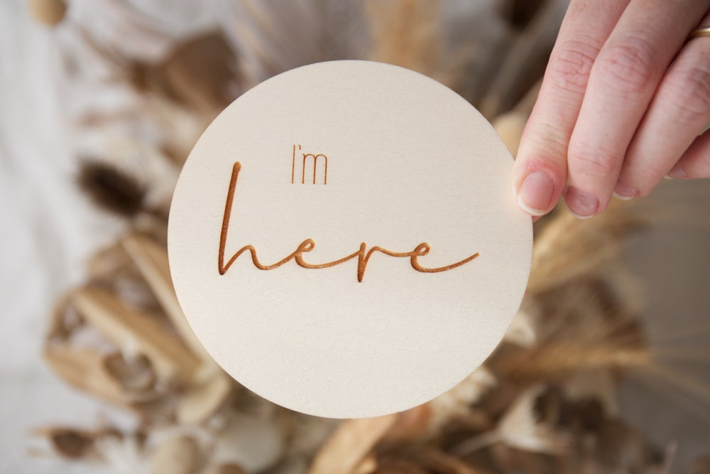 Image of I'm here