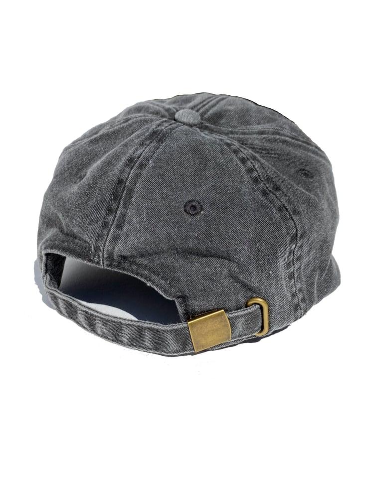 Image of FTW EMBROIDERED VINTAGE BLACK CAP