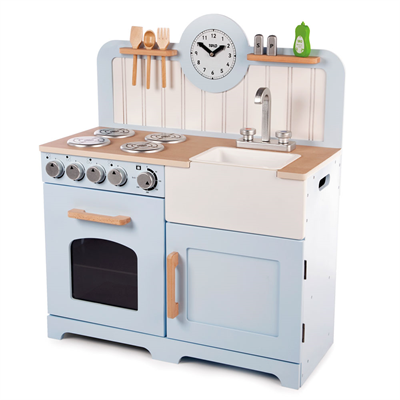 Image of Country Kitchen - Blue