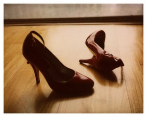 "Image of Red Shoes – 10""x8"""