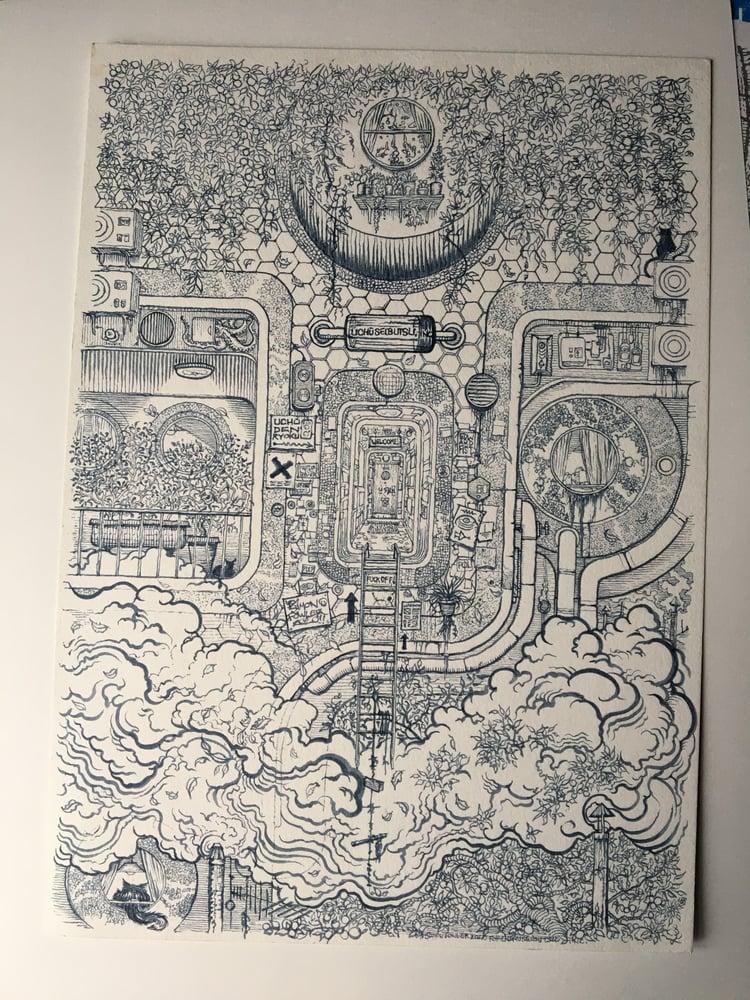 Image of USB 001 Original artwork.