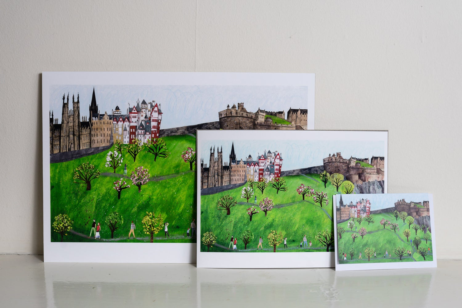 Image of Spring on Castle Hill  GicleePrint