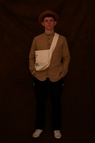 Image of Saddle Bag Ecru