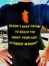 Devon's Complaint Dept. Car Warranty T-Shirt