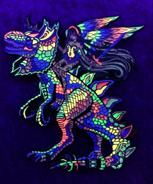 Image of Psychedelic Rex Enchantress 'choice duo'