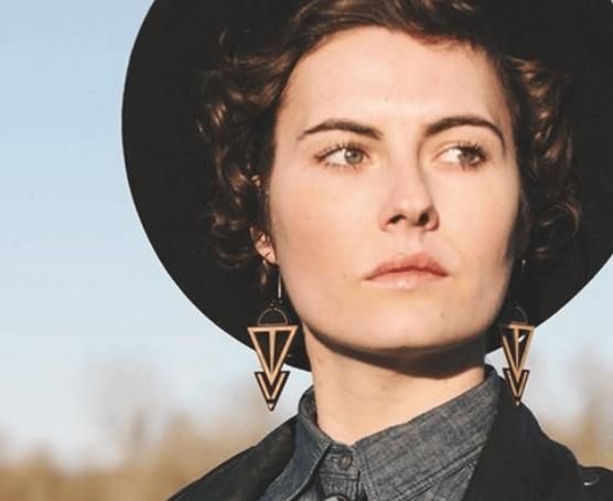 Image of Coven Earrings Black