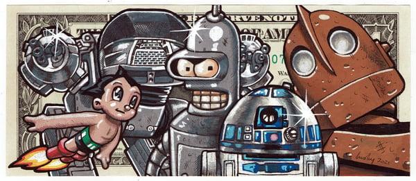 Image of Real Dollar Original. Machine Mates.