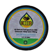 350mg - CBD Body Salve - CBEED