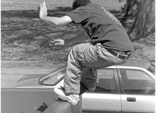Mike Carroll  San Francisco 1995 by Tobin Yelland