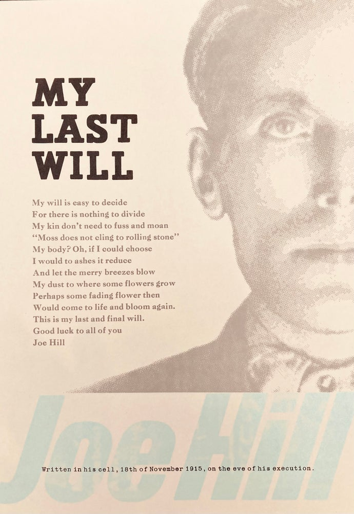 Image of My Last Will by Joe Hill