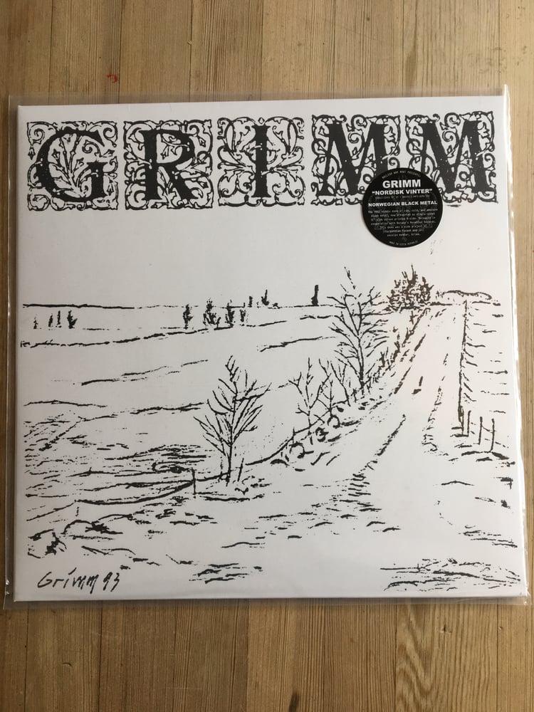 Image of Grimm (Nattefrost) 1993 LTD clear vinyl