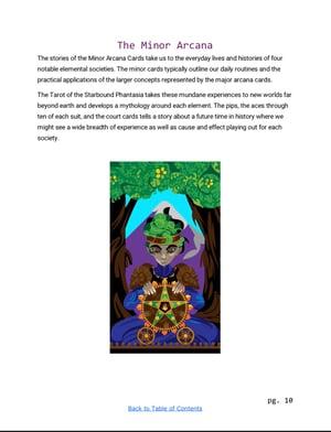Image of Tarot of the Starbound Phantasia Companion eBook