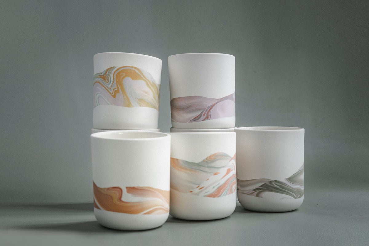 Image of marble cup