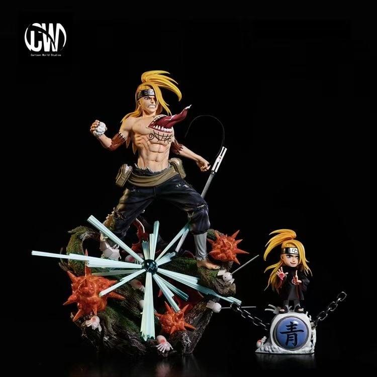 Image of [Early-Bird][Pre-Order]Naruto CW Studio Battle Damaged Series Vol.4 Deidara Resin Statue