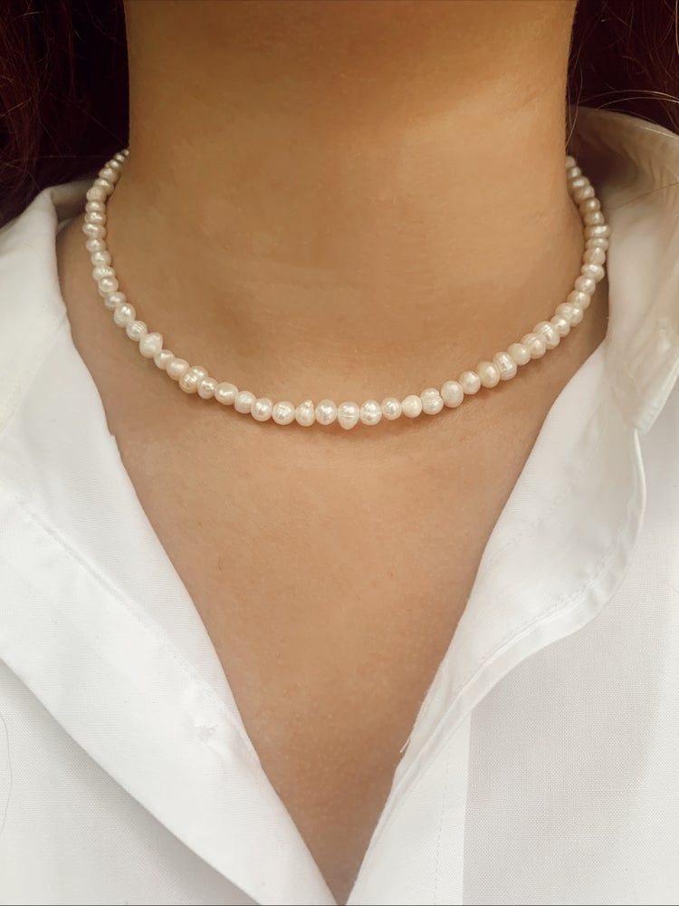 Image of Isadore Pearl Necklace