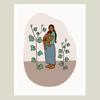 Plantita de Chayote Print