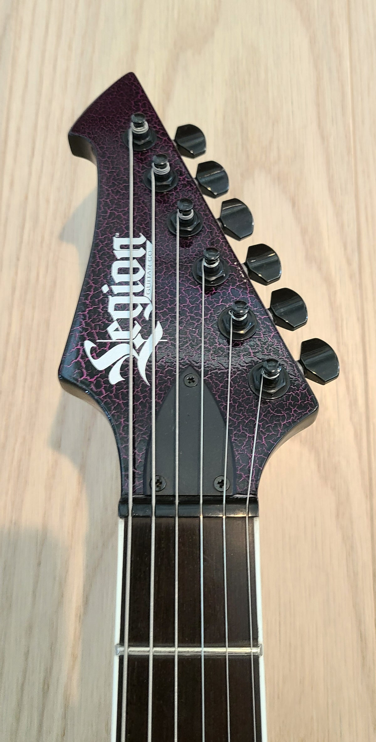 Image of Nihilist 6NTHT Purple Crackle