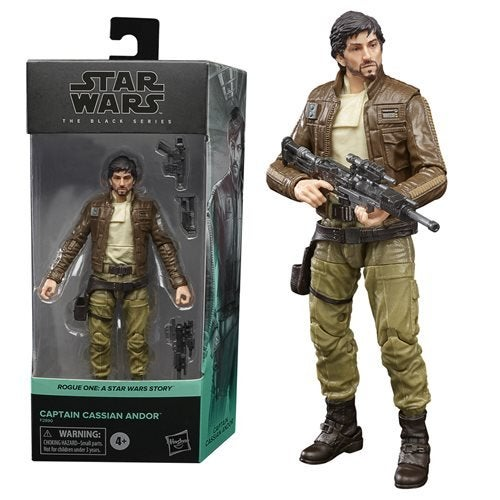 Image of Star Wars The Black Series Rogue One Captain Cassian Andor