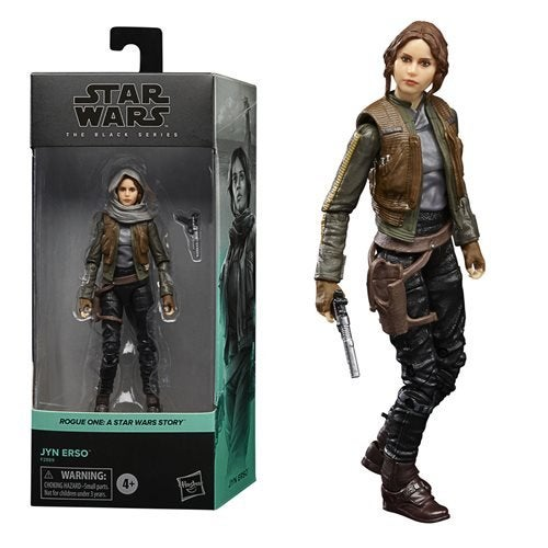 Image of Star Wars The Black Series Rogue One Jyn Erso
