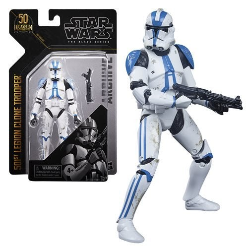 Image of Star Wars The Black Series Archive 501st Trooper